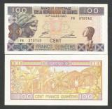 GUINEEA  GUINEA  100 FRANCI  FRANCS  2012  UNC  [1]  P-35b  ,  necirculata