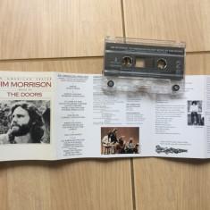 Jim Morrison an american prayer music by The Doors caseta audio muzica rock, Casete audio