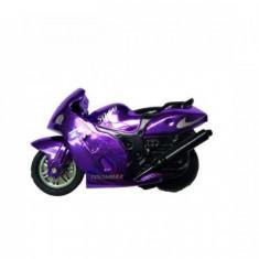 Motocicleta jucarie Spin-Go - Viteza pe doua roti!-Mov - Vehicul