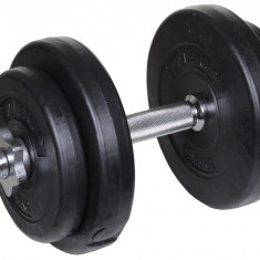 Single-Handed Loading Dumbbell Cement, Kit 15 kg, Gantere