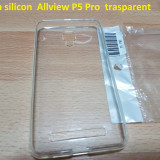 Husa silicon  Allview P5 Pro  trasparent, Alt model telefon Allview, Transparent