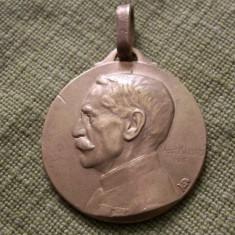 Medalie WWI Primul Razboi Mondial Paris 1914 Gallieni (gravor Maillard 1916), Europa