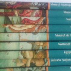 SERIA MARILE MUZEE ALE LUMII - ADEVARUL - BIBLIOTECA DE ARTA - 9 VOLUME - Album Pictura