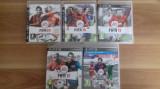 LOT 5 Jocuri  FIFA 09 10 11 12 13 -  PS3 [Second hand], Sporturi, 18+, Single player