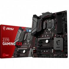 Placa de baza MSI Socket LGA1151, Z270 GAMING M3, Intel Z270 Chipset, 4 *DDR4, 3600(OC)/ 3200(OC)/ 3000(OC)/ 2800(OC)/ 2600(OC)/ 2400(OC)/ 2133 bulk, Altul, ATX