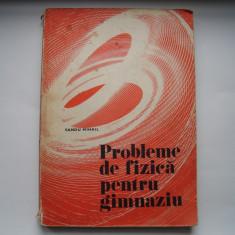 Probleme de fizica pentru gimnaziu - Sandu Mihail, Alta editura