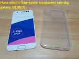 Husa silicon fata+spate trasparent samsug galaxy J3(2017)