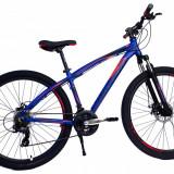 Bicicleta MTB UMIT Camaro 2D ,culoare Albastru, roata 27.5, aluminiu ,cadru 16PB Cod:2761016000