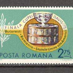Romania.1972 Finala Cupei Davis XR.473 - Timbre Romania, Nestampilat