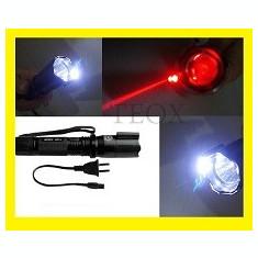 Electrosoc Lanterna Autoaparare, Cu lanterna