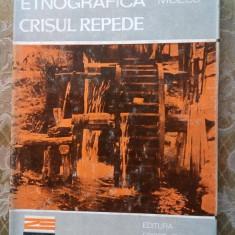(D) Zona etnografica Crisul Repede, Tereza Mozes Ed. Sport Turism 1984 - Carte traditii populare