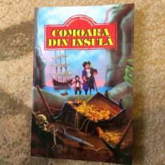 Comoara din insula Robert Louis Stevenson editura regis carte povesti aventura - Carte de aventura, An: 2000