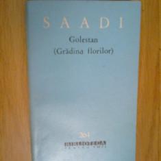 g1 Golestan (gradina Florilor) - Saadi