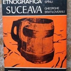 (D) Zona etnografica Suceava, Mihai Spinu Gh. Bratiloveanu Ed. Sport Turism 1987 - Carte traditii populare