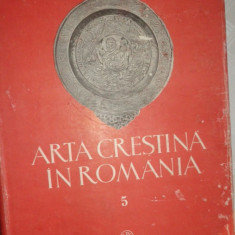 Arta crestina in Romania vol.5 an 1989/352pag/132planse