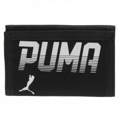 Portofel Puma Pioneer 25X13cm -produs original, factura si garantie - Portofel Barbati Puma, Negru