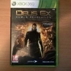 Deus Ex Human Revolution Limited Edition Xbox 360 - Jocuri PS3 Square Enix