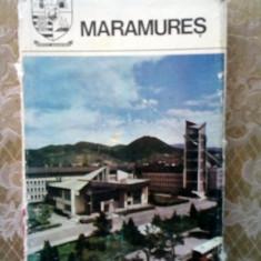 (D) Judetele patriei - Maramures, Monografie, Ed. Sport -Turism 1980 - Carte Geografie