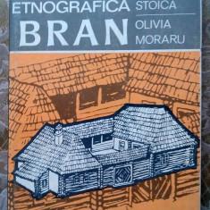 (D) Zona etnografica Bran, G. STOICA, OLIVIA MORARU Ed. Sport Turism 1981 - Carte traditii populare