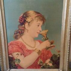 Tablouri cu rama. Pictura in ulei pe panza. - Rama Tablou, Decupaj: Dreptunghiular, Material: Lemn