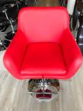 Scaune coafor rosii HC8117