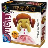 Joc creativ D-Toys, Set de Creat Papusa Molly, D-Toys
