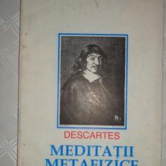 Meditatii metafizice 81pagini/an 1993- Descartes - Filosofie