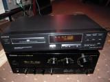CD player deck Sony CDP-212, DEFECT nu se mai inchide sertarul +CD audio Santana