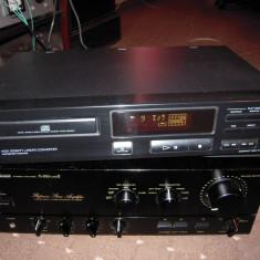 CD player deck Sony CDP-212, stare BUNA de functionare si aspect