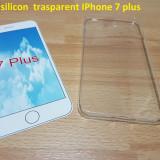 Husa silicon  trasparent IPhone 7 plus, iPhone 7/8 Plus, Transparent
