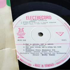 Disc LP, Vinyl, Vinil - Kalman Imre Silvia Selectiuni - Muzica Corala