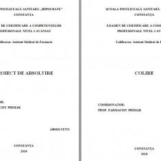 LUCRARE DE LICENTA AMF – COLIRE (1) - Carte Farmacologie