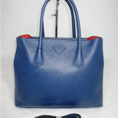 Geanta dama mare albastra+CADOU