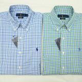 Camasi superbe Ralph Lauren colectia noua M - Camasa barbati Ralph Lauren, Marime: M, Culoare: Albastru, Maneca lunga