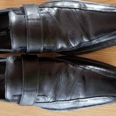 Pantofi bugatti - Pantofi barbat Burberry, Marime: 42, Culoare: Negru