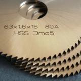 Freze disc pentru debitat metal Ø 63, 80, 100 si 120 STAS 1159 DIN 1837