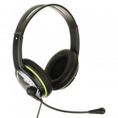Casti audio Genius HS-400A, 3.5 mm Jack, Peste cap, Negru - Casca PC