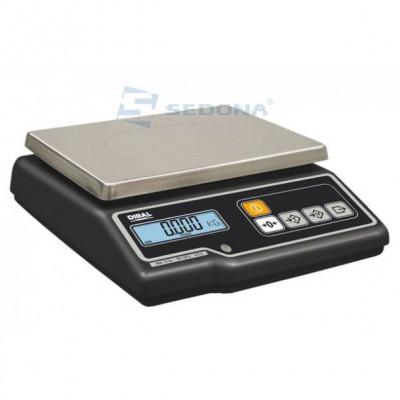 Cantar de verificare Dibal G300 cu verificare metrologica (Alimentare - Priza) foto