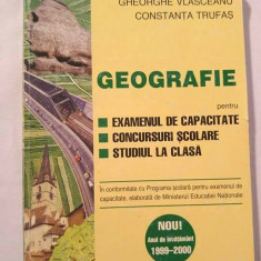 Geografie -pentru examenul de capacitate, 1999 - Manual scolar didactica si pedagogica, Clasa 8, Didactica si Pedagogica