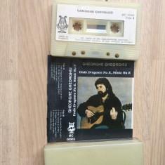 Gheorghe gheorghiu unde dragoste nu e nimic nu e caseta audio Muzica Folk electrecord rock, Casete audio