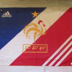 Steag Adidas (Nou) fotbal - FRANTA (Federatia Franceza de Fotbal) - Steag fotbal