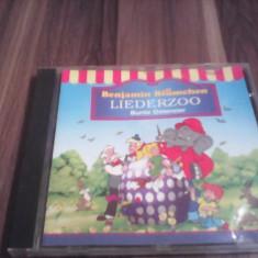CD MUZICA COPII BENJAMIN BLUMECHEN LIEDERZOO BUNTE OSTEREIER RAR!!!! ORIGINAL - Muzica pentru copii