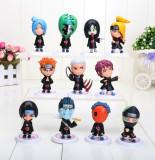 Set figurine Naruto Shippuden Akatsuki Itachi Uchiha Obito Deidara Orochimaru