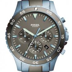 Fossil CH3097 Crewmaster ceas barbati nou 100% original. Livrare rapida. - Ceas barbatesc Fossil, Casual, Quartz, Inox, Cronograf