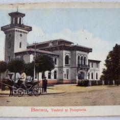 Carte postala  BACAU  1915   circulata, Fotografie, Iasi