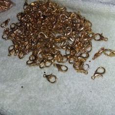 Incuietori lant aurite cu zale prindereincuietori pt.bratara, lant aurite.T.GRAT