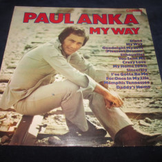 Paul Anka - My Way _ vinyl, LP _ RCA(UK) - Muzica Rock rca records, VINIL