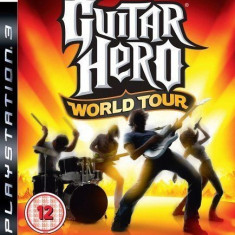 Guitar Hero World Tour - PS3 [Second hand], Simulatoare, 12+, Multiplayer