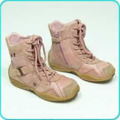 DE FIRMA→ Ghete din piele, comode, calduroase, fiabile, ELEFANTEN → fete | nr 29, Roz