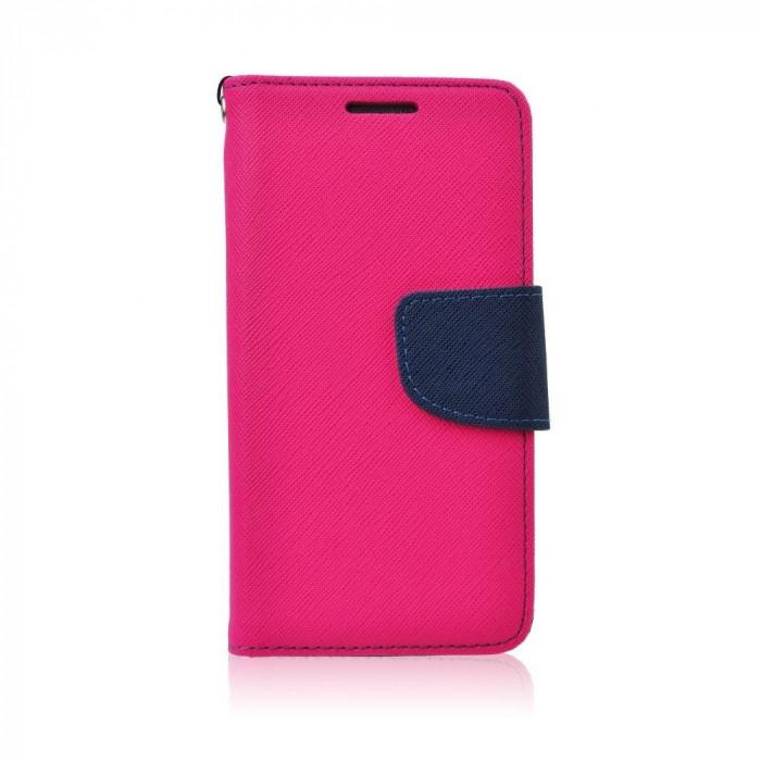 Husa Samsung Galaxy S6 Edge Fancy Book Roz-Bleumarina - CM04305